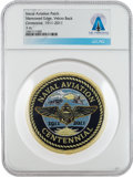 Explorers:Space Exploration, Patches: Naval Aviation Centennial Patch Directly From The Armstrong Family Collection™, CAG Certified. ...