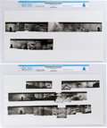 Explorers:Space Exploration, Apollo 11: NASA Lunar Surface Panorama Collages One through Five on Two Large Prints Directly From The Armstrong Family Collec... (Total: 2 Items)