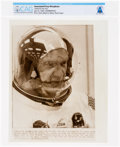 "Explorers:Space Exploration, AP Original Wirephotos: ""Suited for the Trip"" July 16, 1969, Directly From The Armstrong Family Collection™, CAG Certified..."