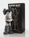 Collectible:Contemporary, KAWS (American, b. 1974). Astro Boy (Grey), 2012. Painted cast vinyl . 14-3/4 x 6 x 4-1/2 inches (37.5 x 15.2 x 11.4 cm)... (Total: 2 Items)