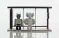 Collectible:Contemporary, KAWS (American, b. 1974). Bus Stop, Series 1-3, 2002. Painted cast resin. 2-3/4 x 1-3/8 x 3/4 inches (7 x 3.5 x 1.9 cm) ... (Total: 3 Items)