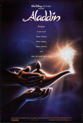 "Movie Posters:Animation, Aladdin (Buena Vista, 1992). Rolled, Very Fine. One Sheet (27"" X 40"") DS Advance. John Alvin Artwork. Animation.. ..."