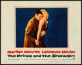"""Movie Posters:Romance, The Prince and the Showgirl (Warner Brothers, 1957). Very Fine. Lobby Card (11"""" X 14""""). Romance.. ..."""