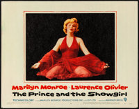 "The Prince and the Showgirl (Warner Brothers, 1957). Very Fine. Lobby Card (11"" X 14""). Romance"