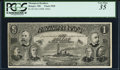 Obsoletes By State:Maine, Bath, ME- Thompson Bros. $1 Advertising Note ND (ca. 1899-1900) PCGS Very Fine 35.. ...