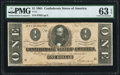 Confederate Notes:1864 Issues, T71 $1 1864 PF-10 Cr. 573A PMG Choice Uncirculated 63 EPQ.. ...