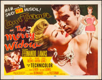 "The Merry Widow (MGM, 1952). Folded, Fine/Very Fine. Half Sheet (22"" X 28"") Style B. Musical"
