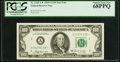Fr. 2165-A* $100 1969A Federal Reserve Note. PCGS Superb Gem New 68PPQ