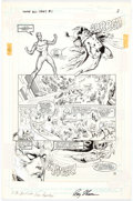 Original Comic Art:Panel Pages, Vince Argondezzi and Malcolm Jones III Young All-Stars #1Page 3 Green Lantern, Hawkman, and The Spectre Original ...