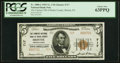 National Bank Notes:Pennsylvania, Bristol, PA - $5 1929 Ty. 2 The Farmers NB of Bucks County Ch. # 717 PCGS Choice New 63PPQ.. ...