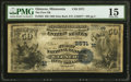 Glencoe, MN - $50 1882 Date Back Fr. 563 The First National Bank Ch. # (M)2571 PMG Choice Fine 15.<