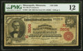 Minneapolis, MN - $50 1902 Red Seal Fr. 664 The National Bank of Commerce Ch. # (M)3206 PMG Fine 12