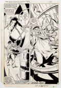 Original Comic Art:Panel Pages, Al Milgrom and Jim Mooney The Spectacular Spider-Man #75Page 40 Original Art (Marvel Comics, 1983)....