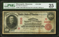 Minneapolis, MN - $100 1902 Red Seal Fr. 686 The National Bank of Commerce Ch. # (M)3206 PMG Very Fine