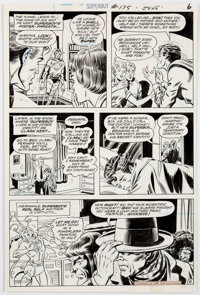 Bob Brown and Murphy Anderson Superboy #175 Page 6 Original Art (DC Comics, 1971)