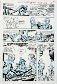 Murphy Anderson House of Secrets #91 Page 28 (DC Comics, 1971)