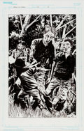 Original Comic Art:Splash Pages, Charlie Adlard and Cliff Rathburn The Walking Dead #62Splash Page 4 Original Art (Image, 2009)....
