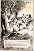 Original Comic Art:Splash Pages, Gerald McCann Classics Illustrated #158 TheConspirators Sp...