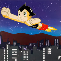Rupert Jasen Smith (American, 1953-1988) Astroboy, from the Homage to Andy Warhol Portfolio, 1989 Screenprint