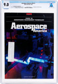 Explorers:Space Exploration, Magazines: Aerospace America Dated November 1992, Directly From The Armstrong Family Collection™, CAG Certified an...