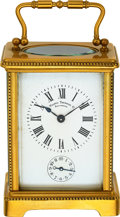 Timepieces:Clocks, French Carriage Clock With Alarm For Tilden Thurber Co. Providence, circa 1880. ...