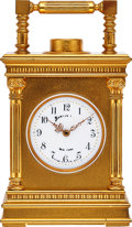 Timepieces:Clocks, French Minute Repeating Clock For Marcus & Co. New York, circa 1900. ...