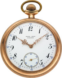 Patek Philippe & Co. Pocket Watch For Ryrie Bros. Toronto, circa 1895
