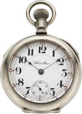 Timepieces:Pocket (pre 1900) , Hamilton Rare 7 Jewel 18 Size, No. 2936. ...