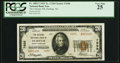 National Bank Notes:North Carolina, Durham, NC - $20 1929 Ty. 2 The Citizens NB Ch. # 7698 PCGS Very Fine 25.. ...