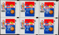 Basketball Cards:Unopened Packs/Display Boxes, 1986 Fleer Basketball Wrappers Collection (30)....