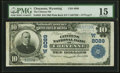 National Bank Notes:Wyoming, Cheyenne, WY - $10 1902 Plain Back Fr. 625 The ...