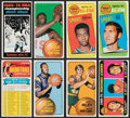 Basketball Cards:Lots, 1970 Topps Basketball Collection (554). ...