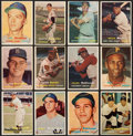 Baseball Cards:Sets, 1957 Topps Baseball Near Set (405/407) Plus Extras (13). ...