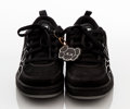 Collectible:Contemporary, KAWS X DC Shoe Co.. Chum Sneakers (Black and White), 2002. Pair of sneakers. 5 x 12 x 7 inches (12.7 x 30.5 x 17.8 cm). ...
