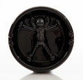 Collectible:Contemporary, KAWS X Gallery 1950. Original Fake Ashtray, 2008. Whiteware ceramic with black paint and glazing. 6-1/4 inch (15.9 cm) d...