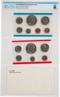 Explorers:Space Exploration, Coins: 1974 United States Uncirculated Coin Set Directly From The Armstrong Family Collection™, CAG Certified. ...