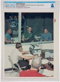 """Explorers:Space Exploration, Apollo 11: Original NASA """"Red Number"""" Color Photo of First Astronaut Debriefing, 1969, Directly From The Armstrong Family Coll..."""