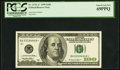 Small Size:Federal Reserve Notes, Fr. 2176-A* $100 1999 Federal Reserve Star Note. PCGS Superb Gem New 69PPQ.. ...