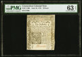 Colonial Notes:Connecticut, Connecticut June 19, 1776 9d PMG Choice Uncirculated 63 EP...