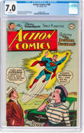 Golden Age (1938-1955):Superhero, Action Comics #188 (DC, 1954) CGC FN/VF 7.0 White pages....