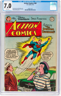 Action Comics #188 (DC, 1954) CGC FN/VF 7.0 White pages
