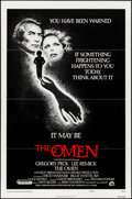 "Movie Posters:Horror, The Omen (20th Century Fox, 1976). Flat Folded, Very Fine-. One Sheet (27"" X 41"") Style F. Horror.. ..."