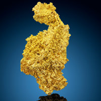 Crystallized Gold Round Mountain District Toquima Range, Nye Co. Nevada, USA