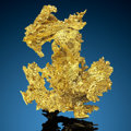 "Crystallized Gold ""The Dragon"" Eagle's Nest Mine (Mystery Wind Mine) Sage Hill, Michigan Bluff District (Michi..."
