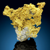 Gold Nugget 16 to 1 Mine, Alleghany Alleghany District Sierra Co. California, USA
