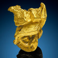 Minerals:Golds, Gold Nugget. Mt Kare Mine, Mt Kare Valley. Mt Hagen, Enga Province. Papua New Guinea. ...