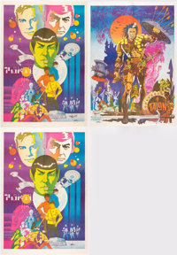 Jim Steranko Star Trek and Talon Signed Posters Group of 3 ... (Total: 3)