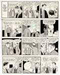 Original Comic Art:Comic Strip Art, Morris Weiss (as M.S. Weiss) Mickey Finn Daily and Sunday Comic Strip Original Art Group of 5 (McNaught Syndicate,...