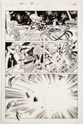 Original Comic Art:Panel Pages, Steve Rude and John Nyberg Nexus #34 Story Page 18 OriginalArt (First, 1987)....