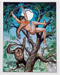 Original Comic Art:Illustrations, Bob Lubbers - Tarzan Illustration Original Art (1999)....